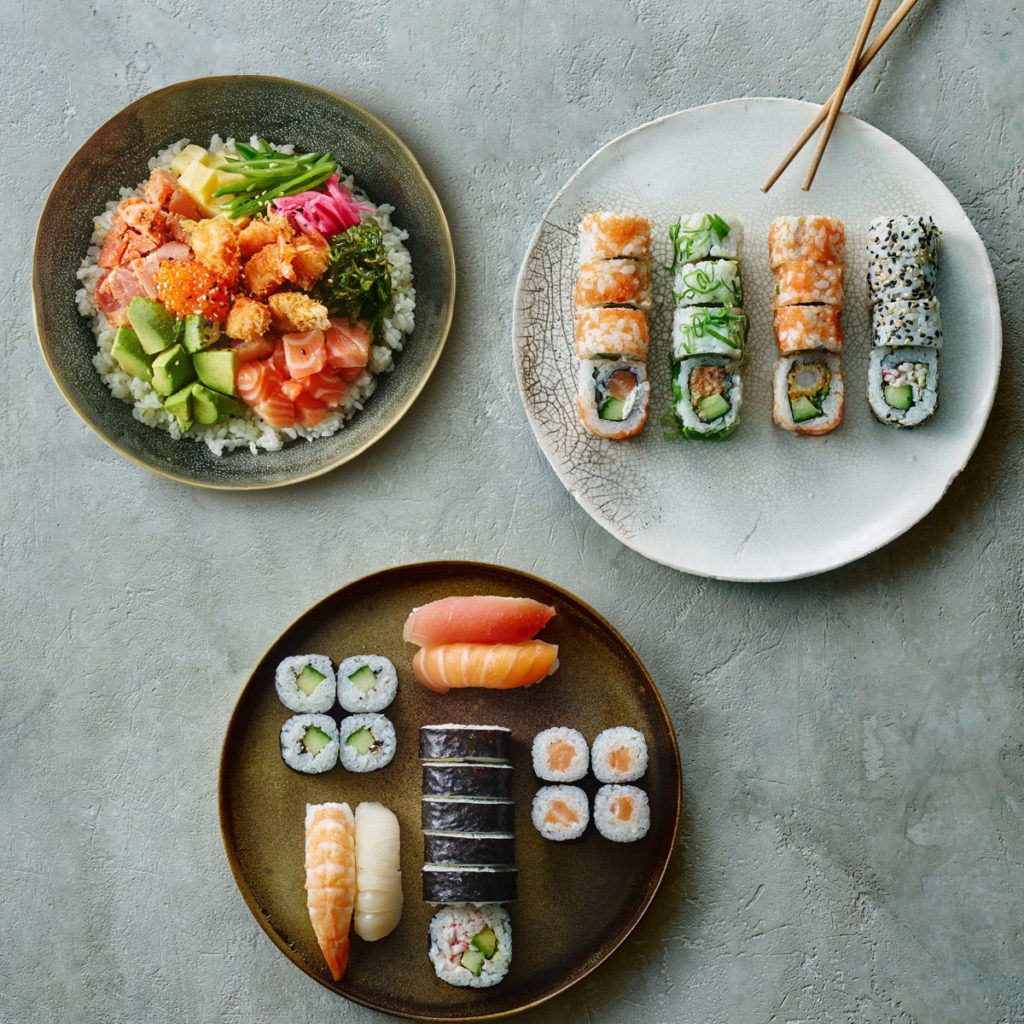 Vegansk sushi hos Letz Sushi | Mia Sommer